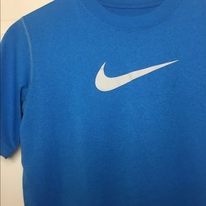 Nike Dri-Fit boys t-shirt size L. Blue